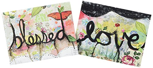 "Lang Love Assorted Boxed Note Cards by Kelly Rae Roberts, 5.25""x4"", 12 Cards & Envelopes (2080527)"
