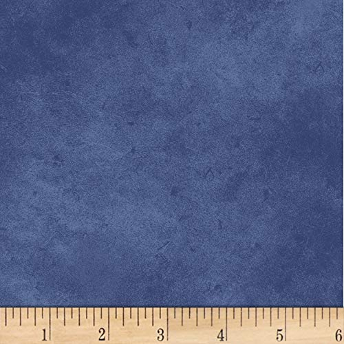 P & B Textiles Suede 6 Blue Fabric by The Yard -  302-SUE6-B