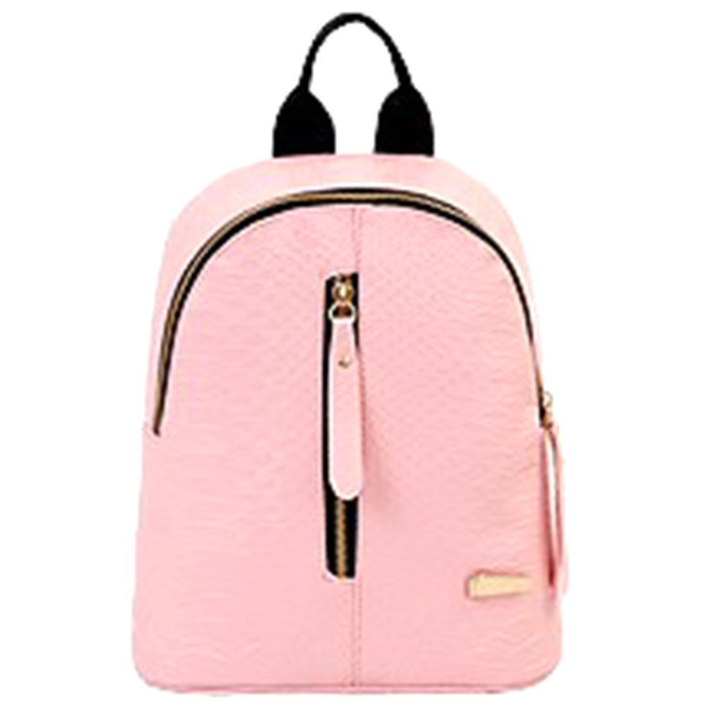 ThinkMax Stylish Women Fashion Snack-effect Leather Casual Backpack Mini Girls Shoulder Bag TMAX-170907-XYZJ317
