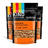 KIND Healthy Grains Clusters, Peanut Butter Whole