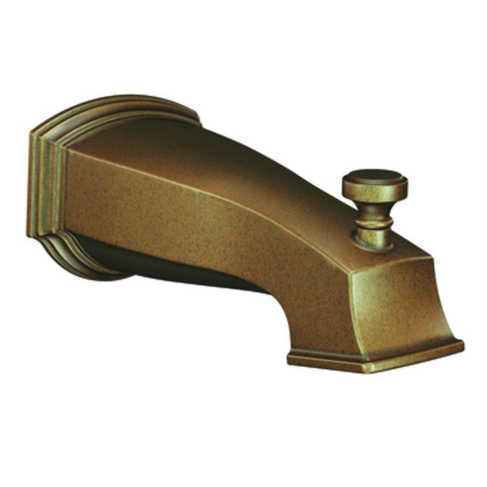 Moen S3859AZ Rothbury Diverter Spout, Antique Bronze - Bathtub And ...