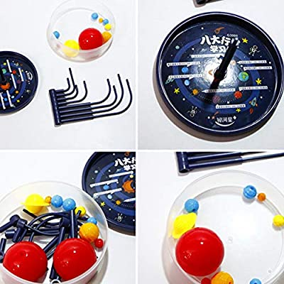 smallwoodi DIY Model Toy, DIY Eight Planets Solar System Model Assembling Teaching Aids Kids Education Toy Birthday Gift: Sports & Outdoors