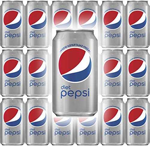 (Diet Pepsi Cola, 12 Fl Oz Can (Pack of 18, Total of 216 Oz))