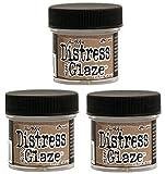 Ranger Tim Holtz Distress Micro Glaze, 1 oz - 3 Pack!