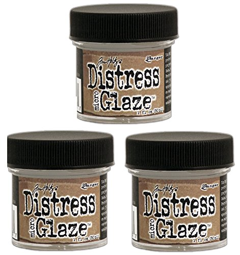 Ranger Tim Holtz Distress Micro Glaze, 1 oz - 3 Pack! by Ranger