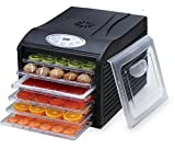 Samson Silent Dehydrator 6-Tray with Digital Controls Timer