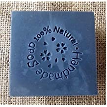 100%natural Hand Made Soap Pattern Mini Diy Soap Stamp Chaprter Seal 4*4cm, 1piece. by Areena Shop