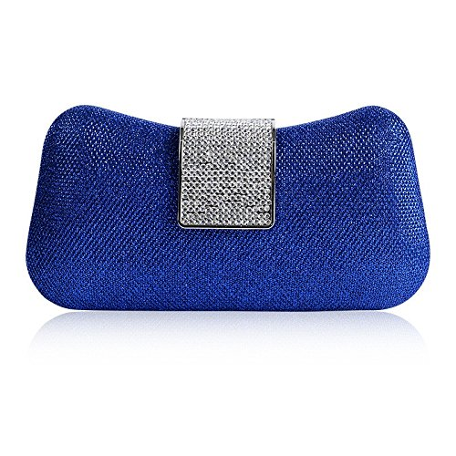 Jajx Ladies Small Evening Clutch Bags Luxury Banquet Cosmetic Bag Lady Party Clutch Bag Casual Crossbody Bag Shoulder Bag for Wedding Prom Cocktail Banquet Party (Color : ()