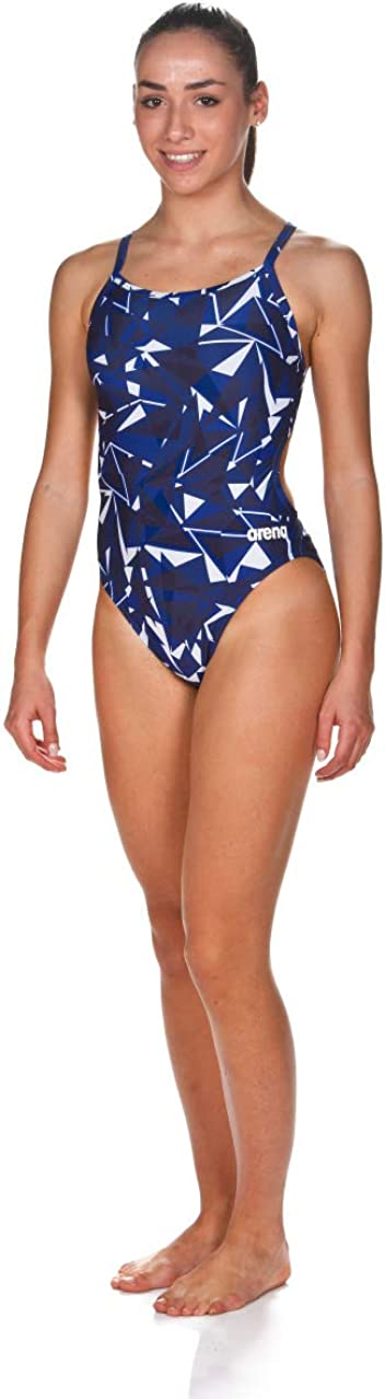 Arena Womens Challenge Back MaxLife One Piece Athletic Training Swimsuit
