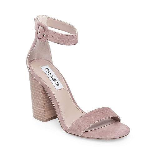 f958b905b41 Steve Madden Women's Frieda Ankle Strap Sandal: Amazon.co.uk: Shoes ...