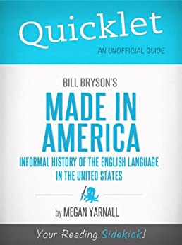 Amazon.com: Quicklet on Bill Bryson's Made in America: An
