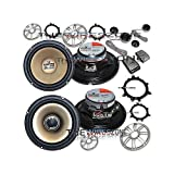 Polk Audio 6.5'' 2-Way Component & Coaxial Marine/Car Speaker System (2 pairs)