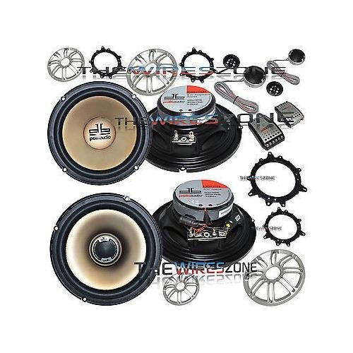 y Component & Coaxial Marine/Car Speaker System (2 pairs) ()