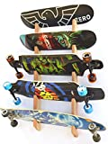 Snowboard Wall Rack Mount - Holds 5 Boards