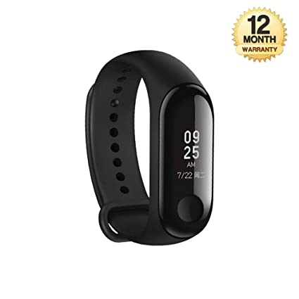 ca2acfe9e7 Image Unavailable. Image not available for. Colour: SHOPZIE EYUVAA LABEL M3  Fit Band Activity Tracker ...