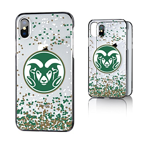Keyscaper NCAA Colorado State Rams Unisex Apple iPhone Caseclear Case, Clear, iPhone x by Keyscaper