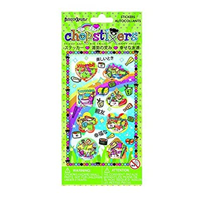 Sushi Liquid Chopstixers : 8 Stickers: Kitchen & Dining