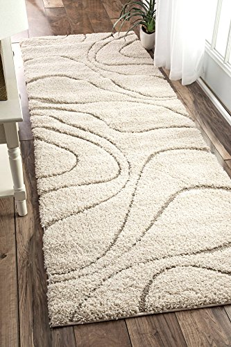 nuLOOM Cozy Soft and Plush Caroyln Shag Runner Rug, 2' 8