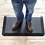 "VARIDESK- 5/8"" Non-Slip Anti-Fatigue Comfort Mat 20""x34"", for Kitchens or Standing Desk"