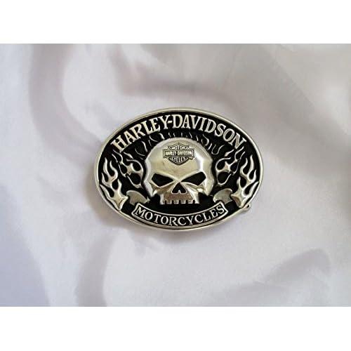 Article est le lendemain Livraison. Harley Davidson Boucle de Ceinture env. 9,5x 6,5cm Shipping Next Day 4–6Day to Angleterre, France