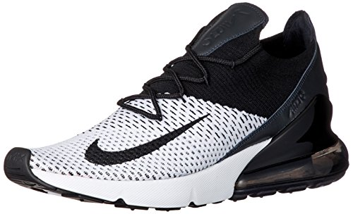 Max Flyknit Nike Noir 270 Blanc AIR B15gqw57