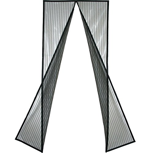 [Pack of 10] Magnetic Screen Door, Quick Install Mesh Curtain, Auto Close Magnets, Pet & Toddler Friendly, Walk Through Hands Free, Fit 32'' - 34'' X 82'' Doors. Stop Bugs & Get Fresh Air Into Your Home! by AntiBugScreen (Image #1)