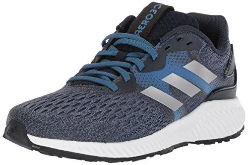 adidas Men's Aerobounce m Running Shoe, Collegiate Navy/Metallic Silver/Trace Royal, 9 M US ()