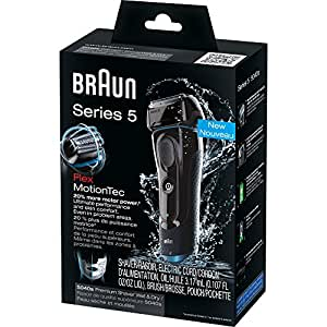 Braun Series 5 5040S Men's Electric Razor / Electric Foil Shaver, Wet & Dry, Cordless & Rechargeable, Pop Up Precision Trimmer