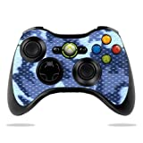 #6: Protective Vinyl Skin Decal Cover for Microsoft Xbox 360 Controller wrap sticker skins Blue Camo