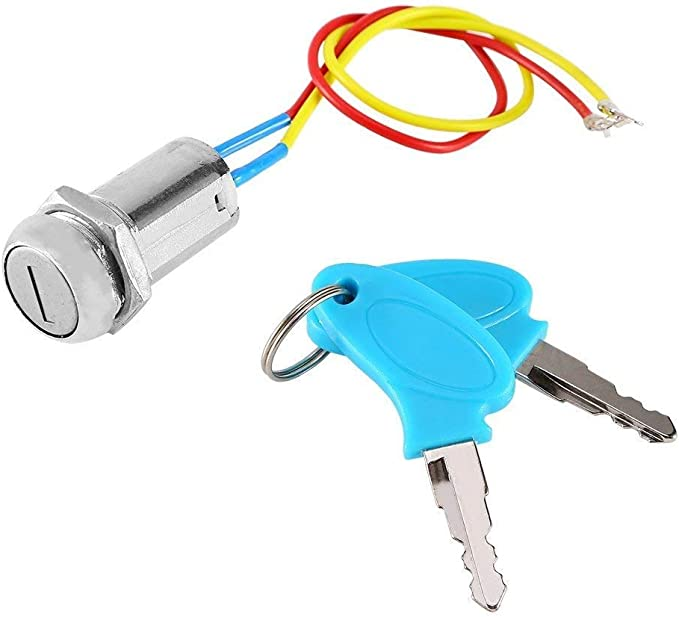 with Long Service Life Good Conductive Properties and High Efficiency ZB2‑BE102 Key Lock Switch 2 Positions Antioxidant Good Conductivity Key Switch Lock Key Switch