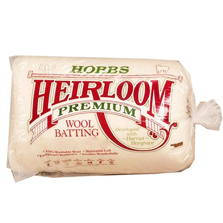 Hobbs WL90 Count Batting Heirloom Wool, 90