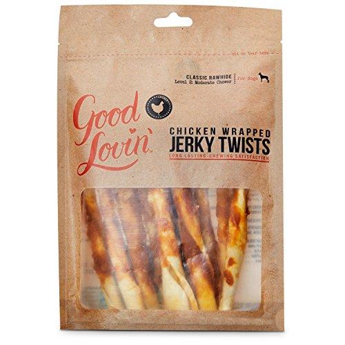 Good Lovin' Chicken Wrapped Jerky Twists Dog Chews, 2.2 oz.