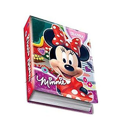 Princess Picture Album - Disney Minnie Mouse 'BOW' 4X6 200 Page Photo Album