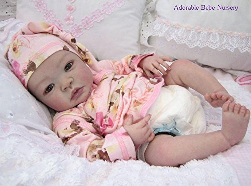 Shyann 19'' Reborn Doll Parts Kit