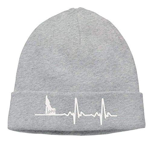 Idaho Winter Home Beanie Skull Love ruishandianqi Gorras Hat Adult Cap Heartbeat béisbol 17ttST