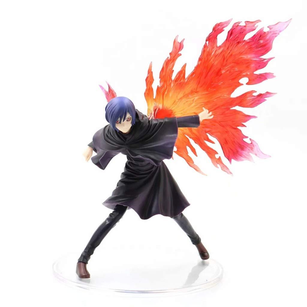 LJBOZ Tokyo Ghoul Anime Statue Kirishima Dong Xiang Exquisite Anime Dekoration -26CM Spielzeugstatue