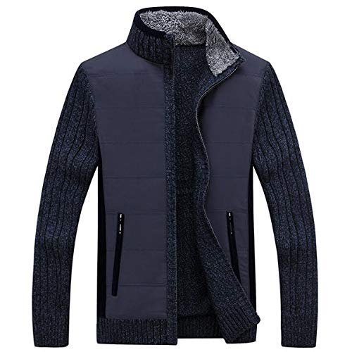 11d8e9da880 SPA Winter Mens Plus Size Cardigan Sweater Coat Cashmere Thick Sweater  Jacket  Amazon.in  Clothing   Accessories