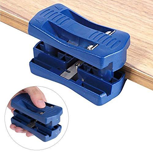 Edge Banding Trimmer, Mini Plastic PVC Plywood Melamine Wood Edge Band Cutter, Manual Trimming Woodworking (Plastic Wood Veneer)