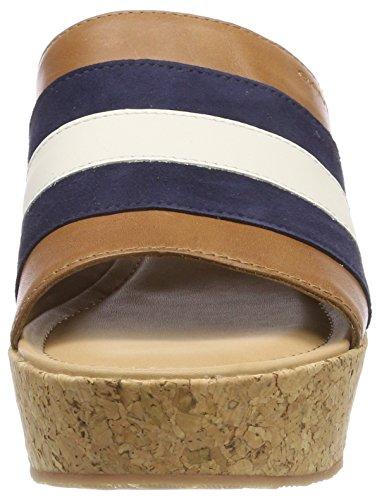 Mehrfarbig Judith Glove tan Platform Sandals crema navy A5aO5q4g