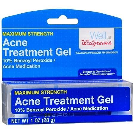 Amazon Com Walgreens Acne Treatment Gel 10 Benzoyl Peroxide 1