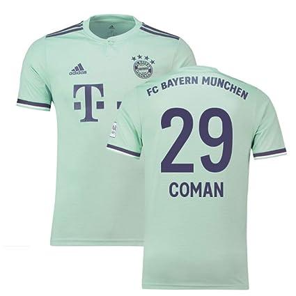 sports shoes e99c4 0d382 Amazon.com : 2018-19 Bayern Munich Away Football Soccer T ...