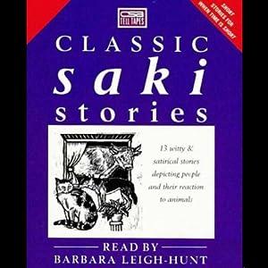 Classic Saki Stories Audiobook