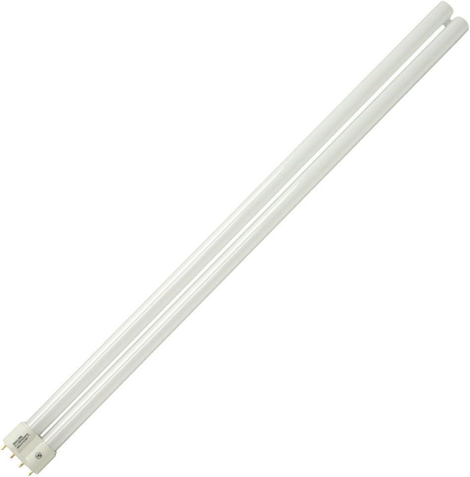 (Case Of 10) Philips 300434 - PL-L 40W/35/RS/IS - 40 Watt Long Twin-Tube Compact Fluorescent Light Bulb, 3500K