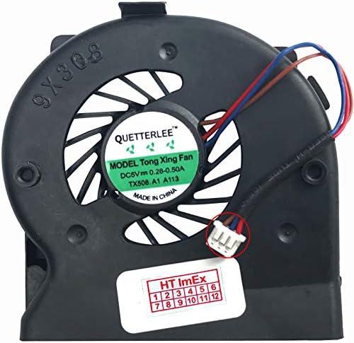 HTIMEx Versie 23pins 3 kabels ventilatorkoeler Fan compatibel met type 7459Y1T 7459Y1T SN R8FTMDR 0911 UDQFWPH51FFD DC5V023A
