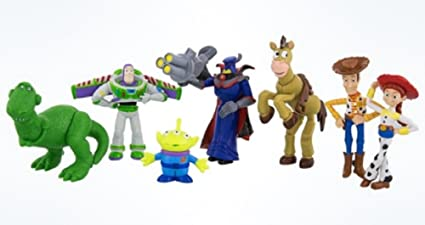 Toy Story Figurines : Amazon disney parks toy story collectible figures set toys