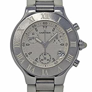 Cartier Must 21 Swiss-Quartz Male Watch W10184U2 (Certified Pre-Owned)