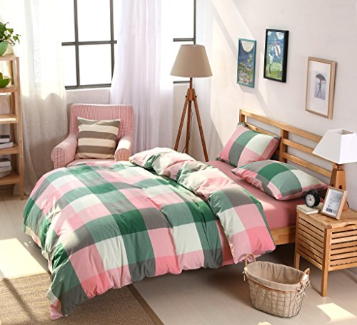 ixtt-washed-cotton-check-cotton-cotton-japanese-minimalist-four-piece-bed-set-bedding-dan-li-200230