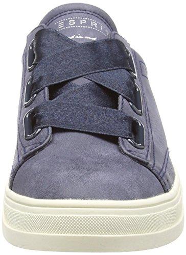 Blue Top Lu Women's Sneakers Navy Sidney 400 Low ESPRIT xEqpw1YI1
