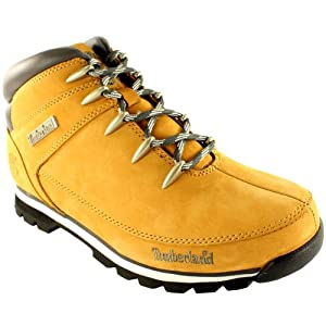 Mens Timberland Euro Sprint Hiker Walking Hiking Leather Ankle Boots - 10.5 - Wheat