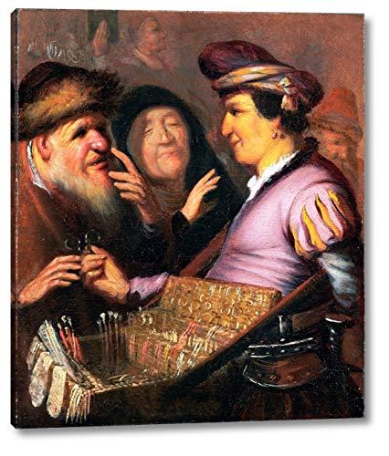 The Spectacle-Pedlar by Rembrandt Van Rijn - 9